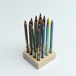 Cool color set Lyra crayons + block